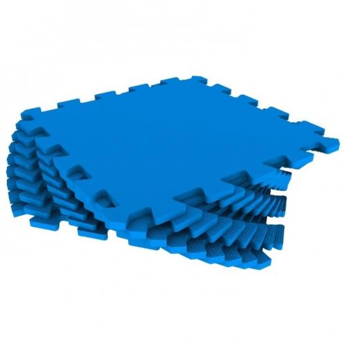 Универсальный коврик 33х33 синий
