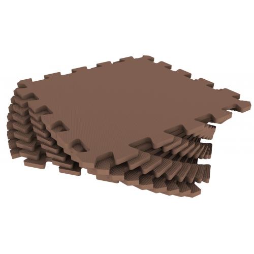 Универсальный коврик 33х33 коричневый