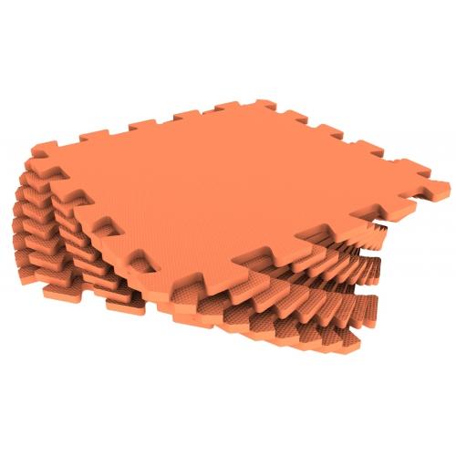 Универсальный коврик 33х33 оранжевый