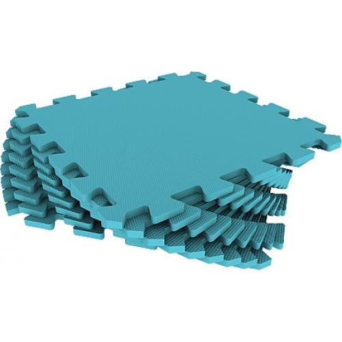 Универсальный коврик 33х33 голубой