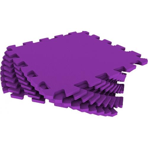 Универсальный коврик 33х33 фиолетовый