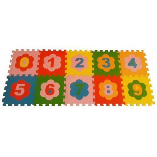 Игровой коврик-пазл Цифры