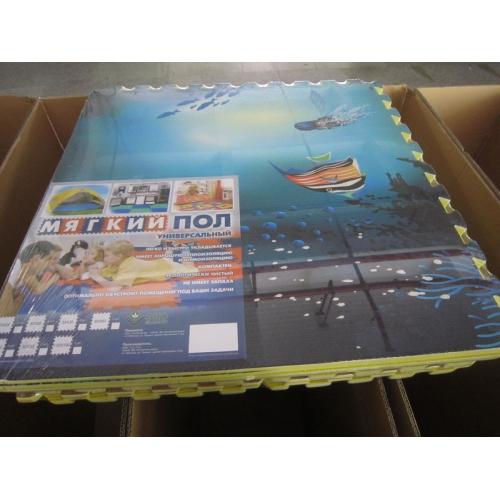 """Развивающий напольный игровой коврик """"Океан"""""""