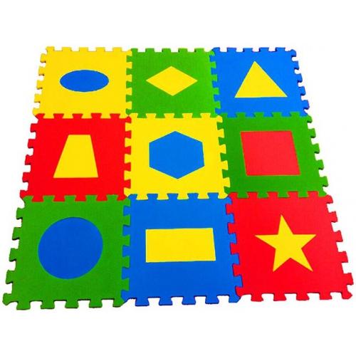 Игровой коврик-пазл Геометрия