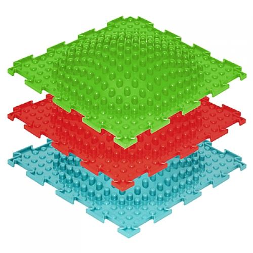 Массажный коврик-пазл Островок мягкий