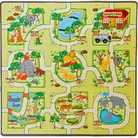 Игровой коврик-пазл Зоопарк
