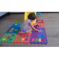 Игровой коврик-пазл Цифры и фигуры-12