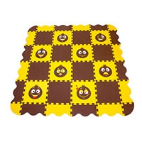 Игровой коврик-пазл Смайлики